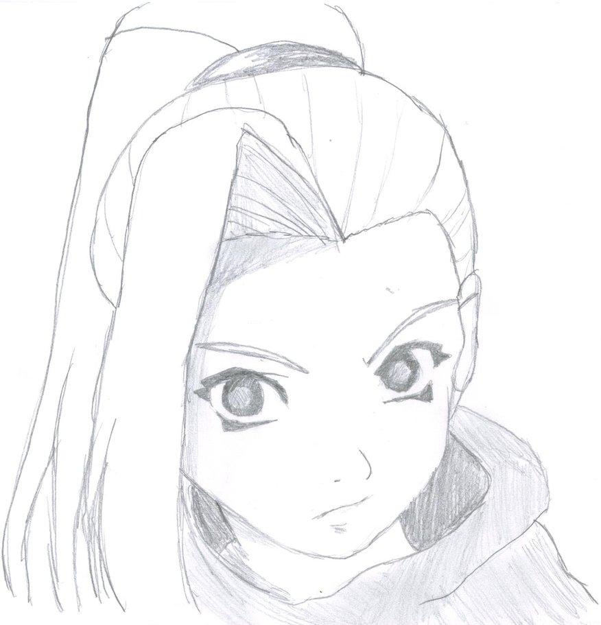 Рисунки карандашом простые легкие аниме